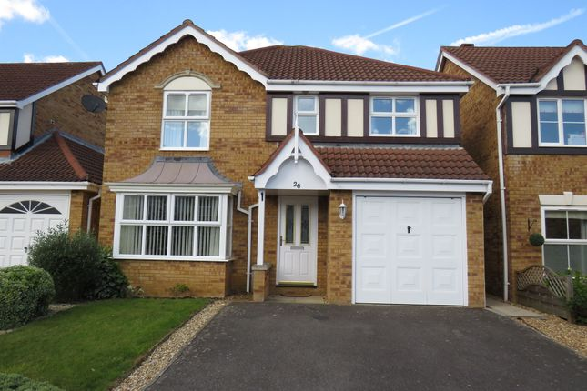 Thumbnail Detached house for sale in Curlbrook Close, Wootton, Northampton