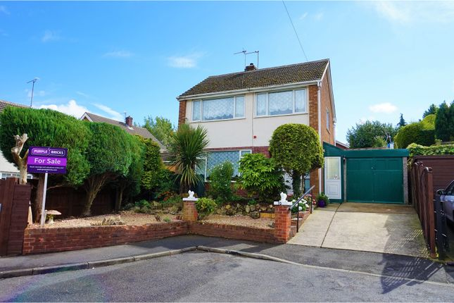 Thumbnail Detached house for sale in Central Close, Shirebrook