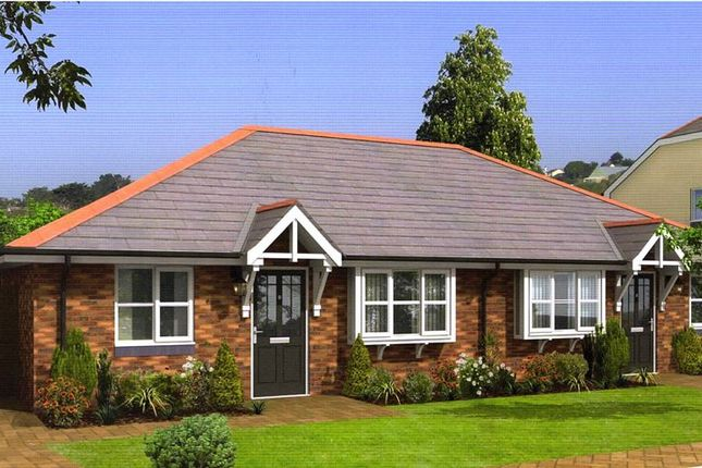 Thumbnail Semi-detached bungalow for sale in Pentywyn Road, Deganwy, Conwy