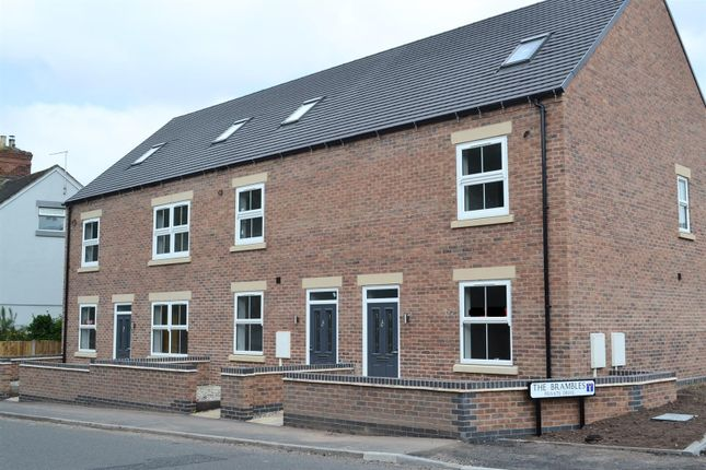 Thumbnail Town house for sale in Ashby Road, Woodville, Swadlincote