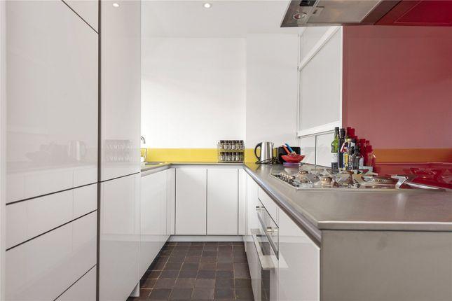 Kitchen of Bayer House, Golden Lane Estate, London EC1Y
