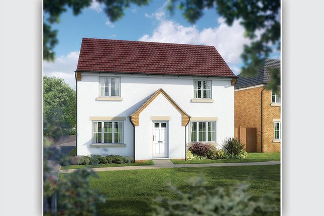 "Thumbnail Detached house for sale in ""The Evesham"" at West Hill, Wincanton"
