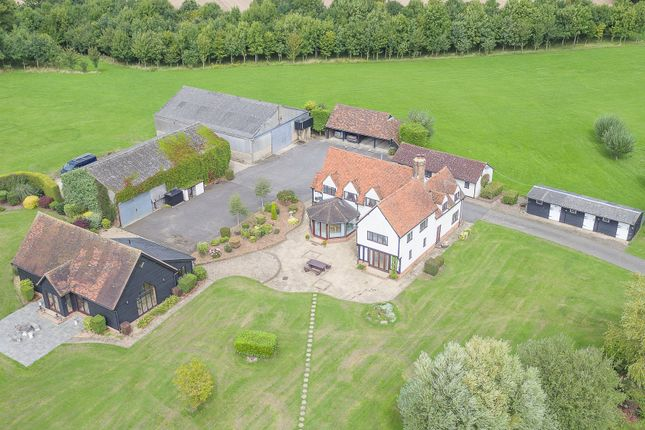 Thumbnail Detached house for sale in Labdens Lane, Colliers End, Herts