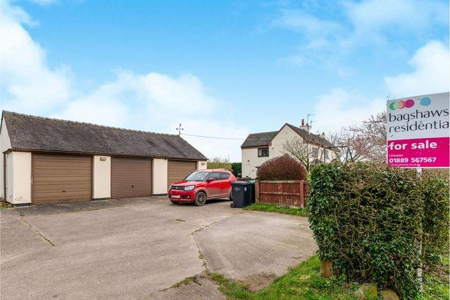 Triple Garage: of Marston Common, Marston Montgomery, Ashbourne DE6