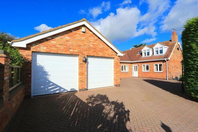 Thumbnail Detached bungalow for sale in Spinney Drive, Botcheston, Leicester