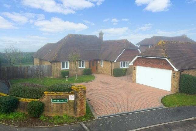 Thumbnail Detached house for sale in Country Ways, Lenham, Maidstone
