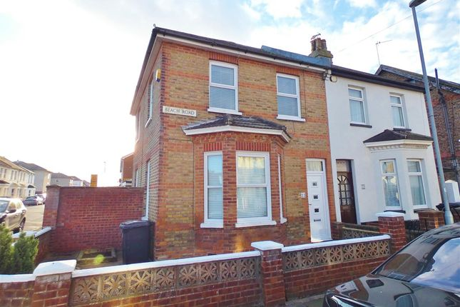 Thumbnail Semi-detached house for sale in Beach Road, Eastbourne