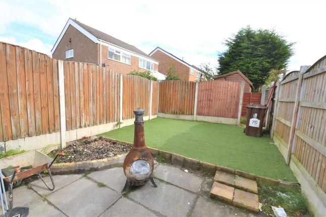 Rear Garden of Stour Road, Tyldesley, Manchester M29