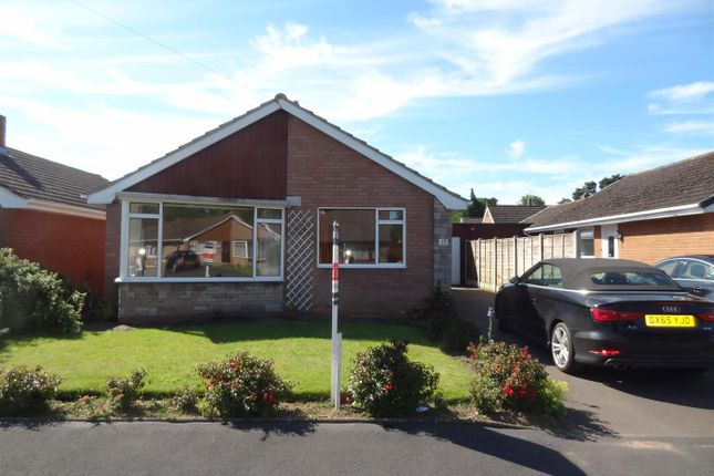 Thumbnail Detached bungalow for sale in Foxleigh Grove, Wem, Shropshire