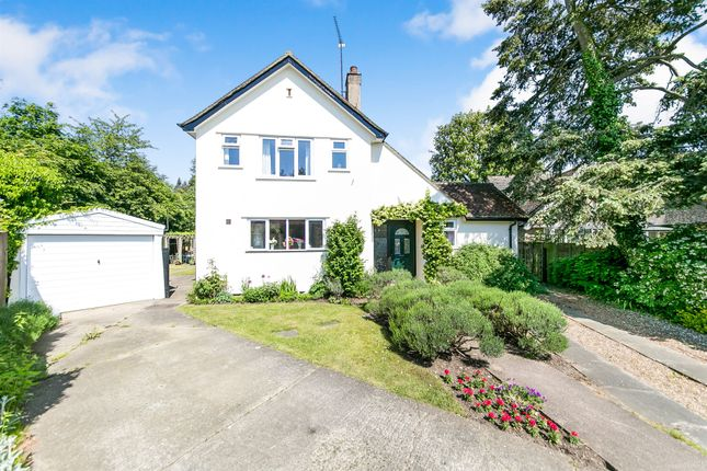 Thumbnail Detached house for sale in Greenways Close, Ipswich