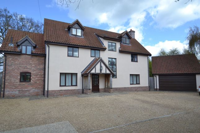 Thumbnail Detached house to rent in Richer Road, Badwell Ash, Bury St. Edmunds