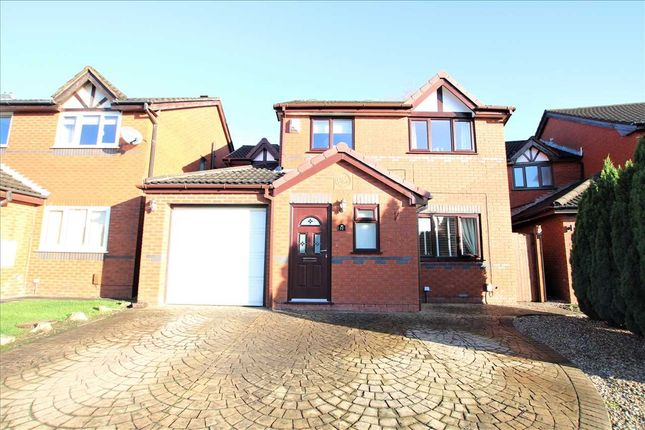 Thumbnail Detached house for sale in Higher Drake Meadow, Westhoughton, Bolton