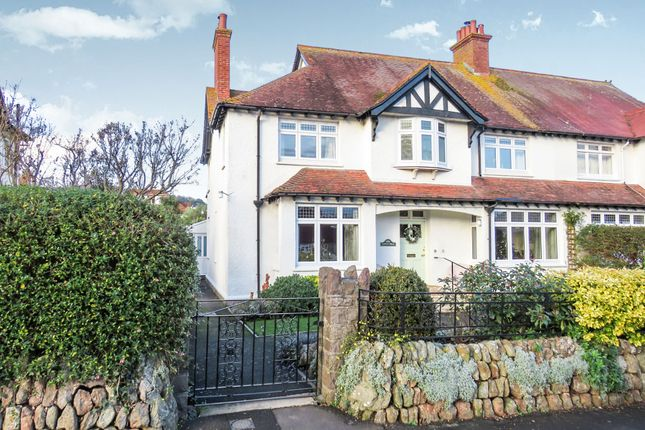 Thumbnail Semi-detached house for sale in King Edward Road, Minehead