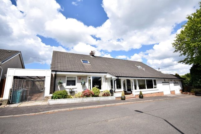 Thumbnail Detached bungalow for sale in Bonkle Gardens, Wishaw