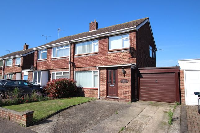 Thumbnail Semi-detached house for sale in Cavendish Drive, Lawford, Manningtree