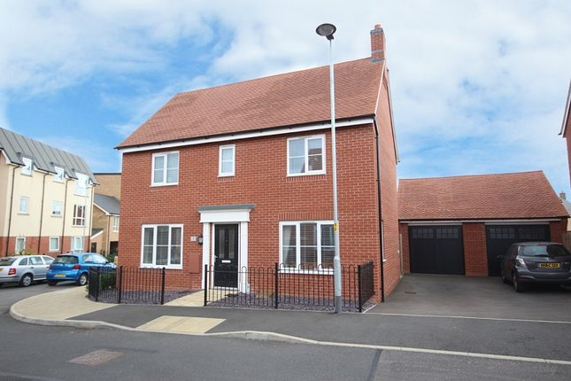 Thumbnail Detached house for sale in Maxwell Crescent, Northampton, Northamptonshire.