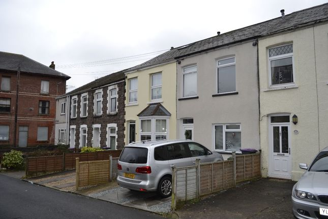Thumbnail Terraced house to rent in High Street, Griffithstown, Pontypool