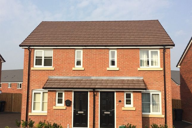 "Thumbnail Terraced house for sale in ""The Alnwick"" at Hardys Road, Bathpool, Taunton"