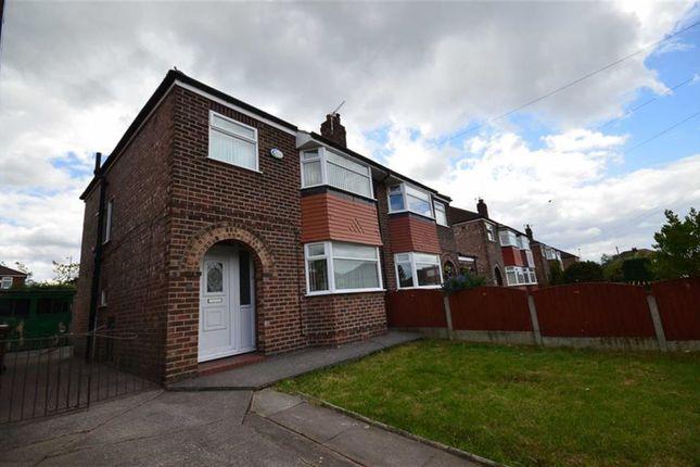 Thumbnail Semi-detached house to rent in Waverton Avenue, Heaton Chapel, Stockport
