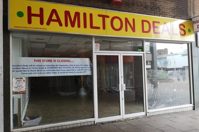 Thumbnail Retail premises to let in Shelton Square, Coventry
