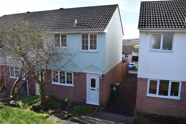 Thumbnail End terrace house for sale in Quicks Walk, Torrington