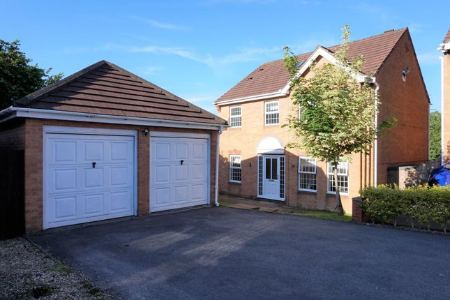 Thumbnail Detached house for sale in Walnut Close, Miskin, Pontyclun