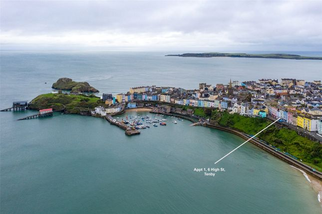Thumbnail Flat for sale in Apartment 1, High Street, Tenby, Pembrokeshire