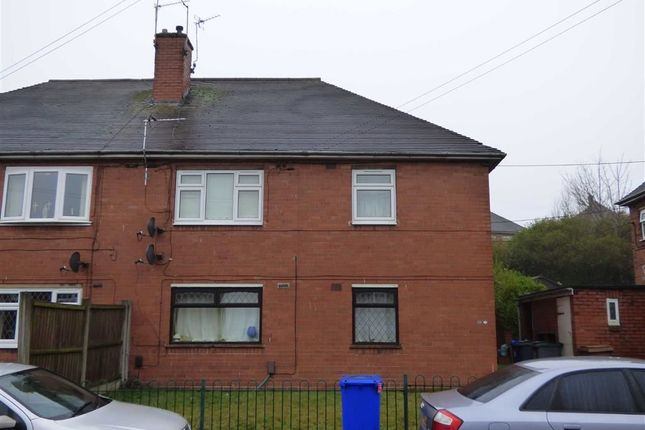 Thumbnail Flat for sale in Ralph Drive, Sneyd Green, Stoke-On-Trent