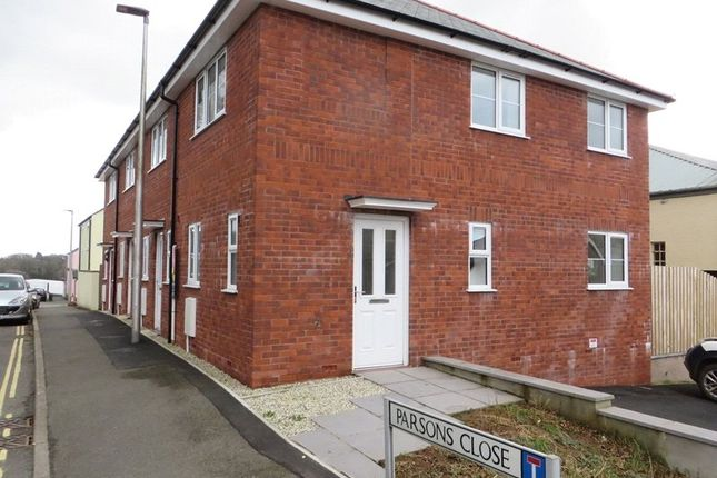 Thumbnail End terrace house to rent in Parsons Close, Holsworthy
