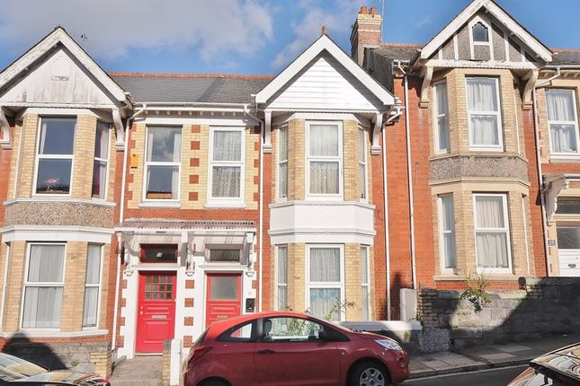 Thumbnail Terraced house for sale in Maple Grove, Mutley, Plymouth