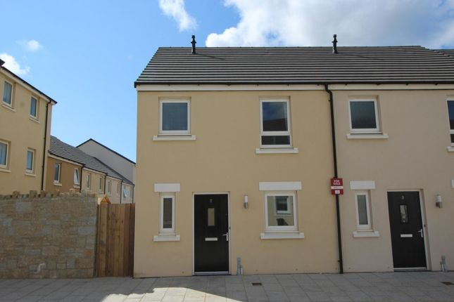 Thumbnail Semi-detached house for sale in Dolcoath Avenue, Camborne
