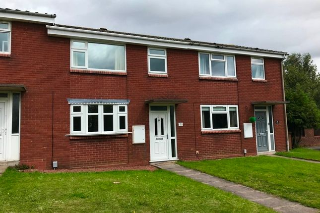 Thumbnail Terraced house to rent in Travellers Close, Burntwood