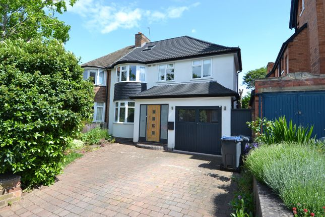 Thumbnail Semi-detached house for sale in Grove Avenue, Moseley, Birmingham