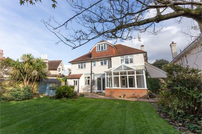 Thumbnail Detached house for sale in Alumhurst Road, Westbourne, Bournemouth