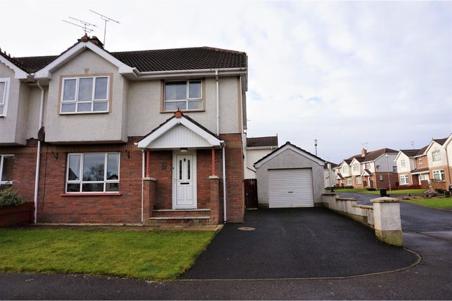 Thumbnail Semi-detached house for sale in Spring Meadows, Coleraine
