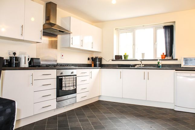 Thumbnail Detached house for sale in Stanley Close, Corby
