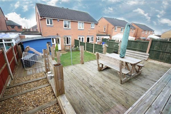 Thumbnail Semi-detached house for sale in Greasley Road, Bucknall, Stoke-On-Trent