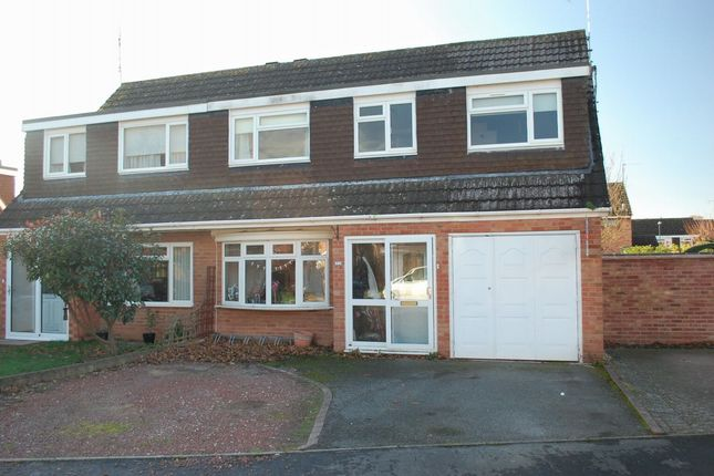 Thumbnail Semi-detached house for sale in Weatheroak Road, Alcester