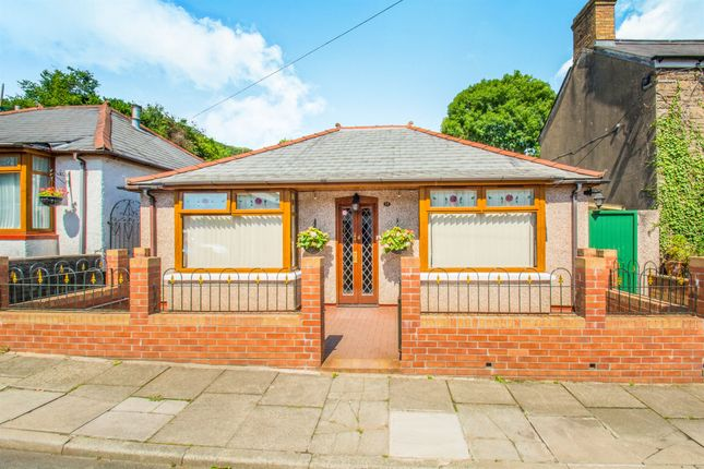 Thumbnail Detached bungalow for sale in Wellington Street, Tongwynlais, Cardiff