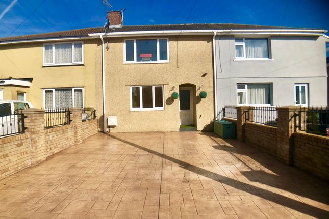 Thumbnail Terraced house to rent in Laing Street, Kenfig Hill