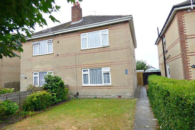 Thumbnail Semi-detached house to rent in Wallisdown Road, Poole