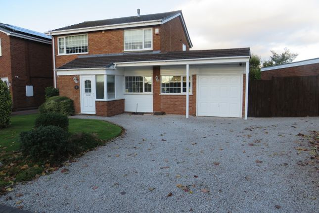 Thumbnail Detached house to rent in Kingshayes Road, Aldridge, Walsall