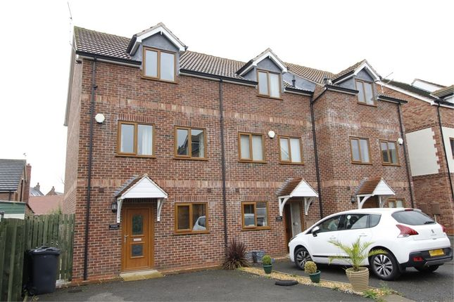 Thumbnail End terrace house for sale in Harden Mews, Armthorpe, Doncaster, South Yorkshire