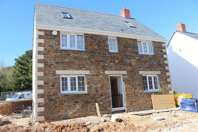 Thumbnail Detached house for sale in Hewas Water, St. Austell