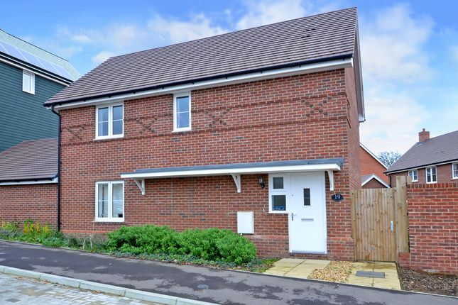 Thumbnail Detached house to rent in Boyce Road, Church Crookham, Fleet