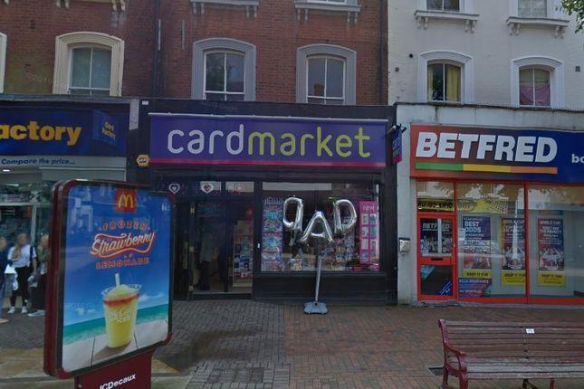 Thumbnail Retail premises to let in Calverley Road, Tunbridge Wells