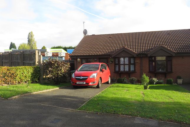 Thumbnail Semi-detached bungalow for sale in Maple Drive, Shelfield, Walsall