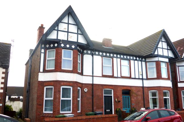 Thumbnail Flat to rent in Gorsehill Road, New Brighton, Wallasey