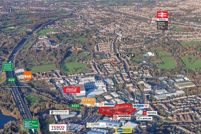 Thumbnail Industrial to let in Unit 1, Ruxley Corner Industrial Estate, Edgington Way, Sidcup, Kent
