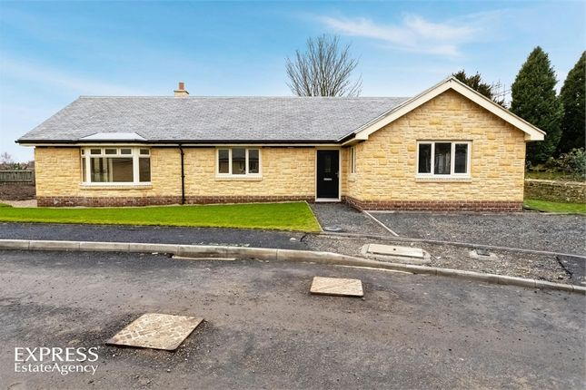 Thumbnail Detached bungalow for sale in Burnside, Thropton, Morpeth, Northumberland